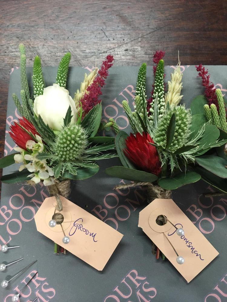 Buttonholes And Corsages Arbour Blooms (1)