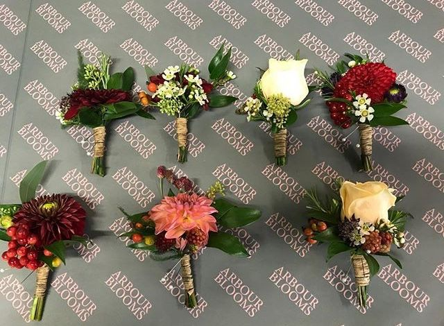 Buttonholes And Corsages Arbour Blooms (13)