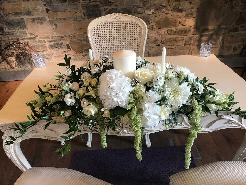 Ceremony Room Dressed Arbour Blooms (10)