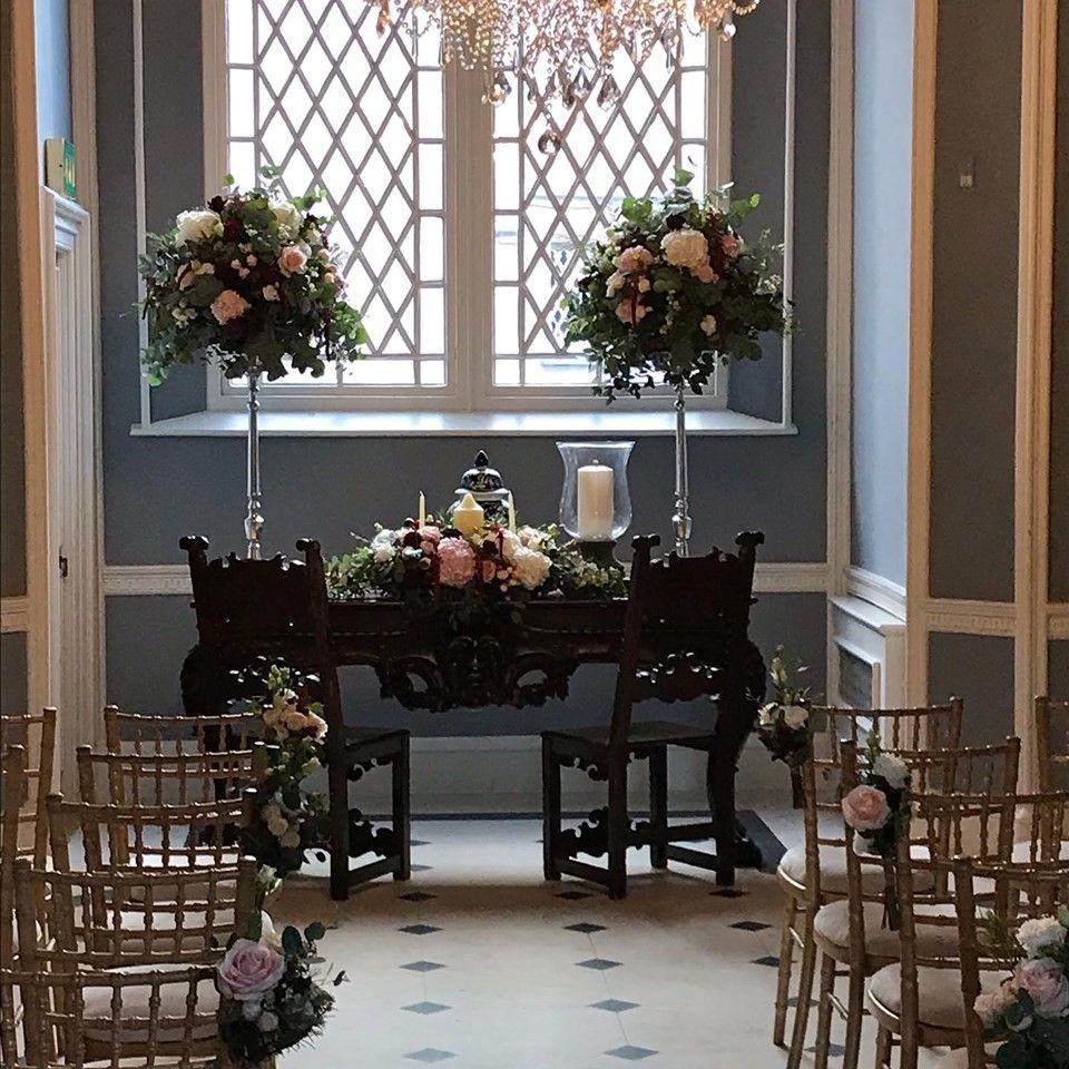Ceremony Room Dressed Arbour Blooms (11)