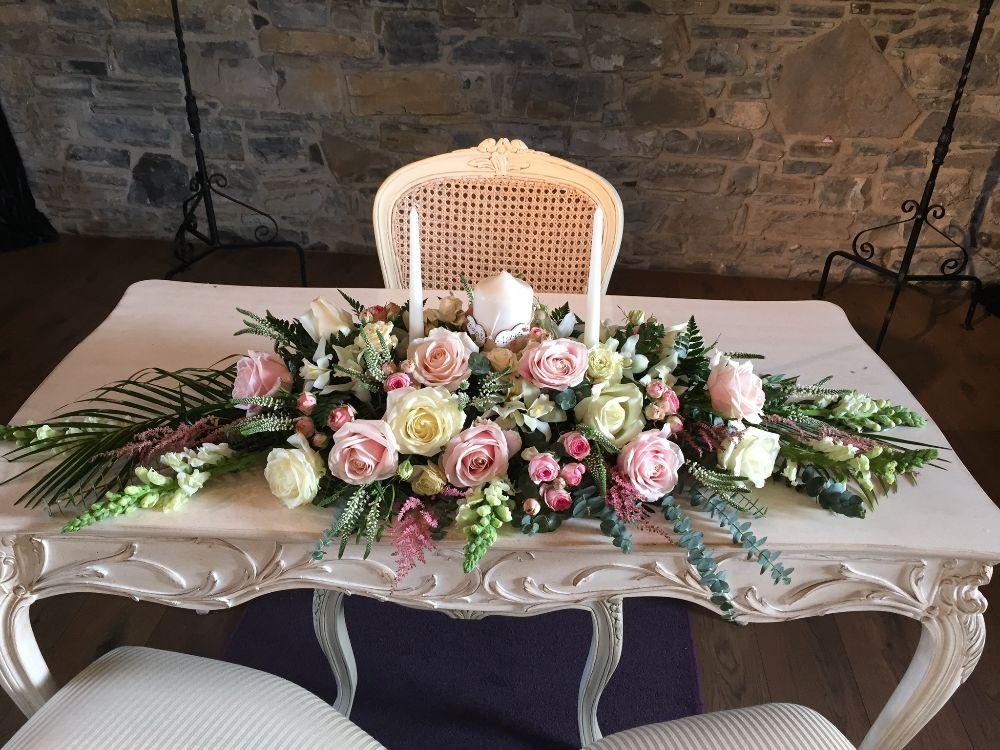 Ceremony Room Dressed Arbour Blooms (16)