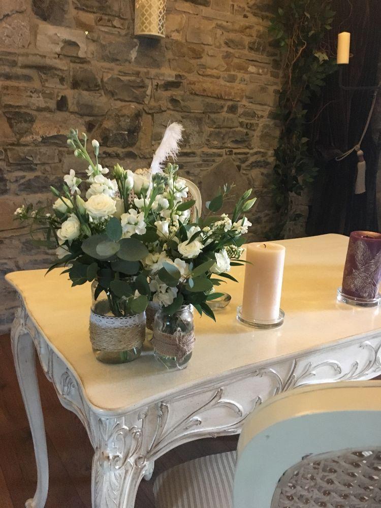 Ceremony Room Dressed Arbour Blooms (17)