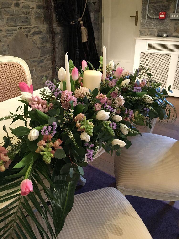Ceremony Room Dressed Arbour Blooms (20)