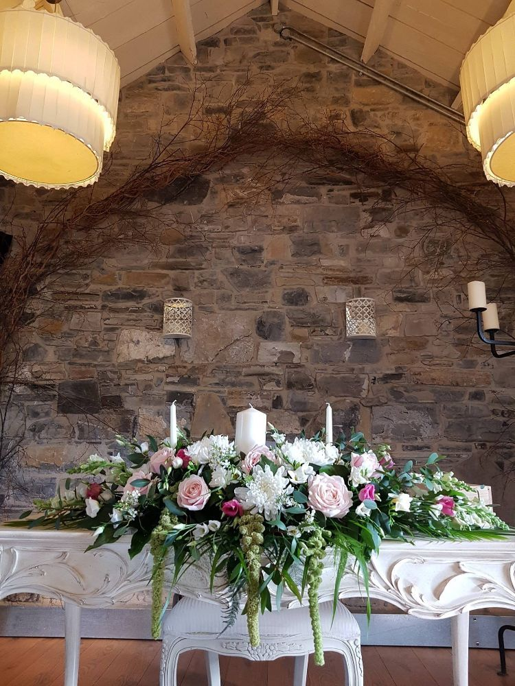 Ceremony Room Dressed Arbour Blooms (26)