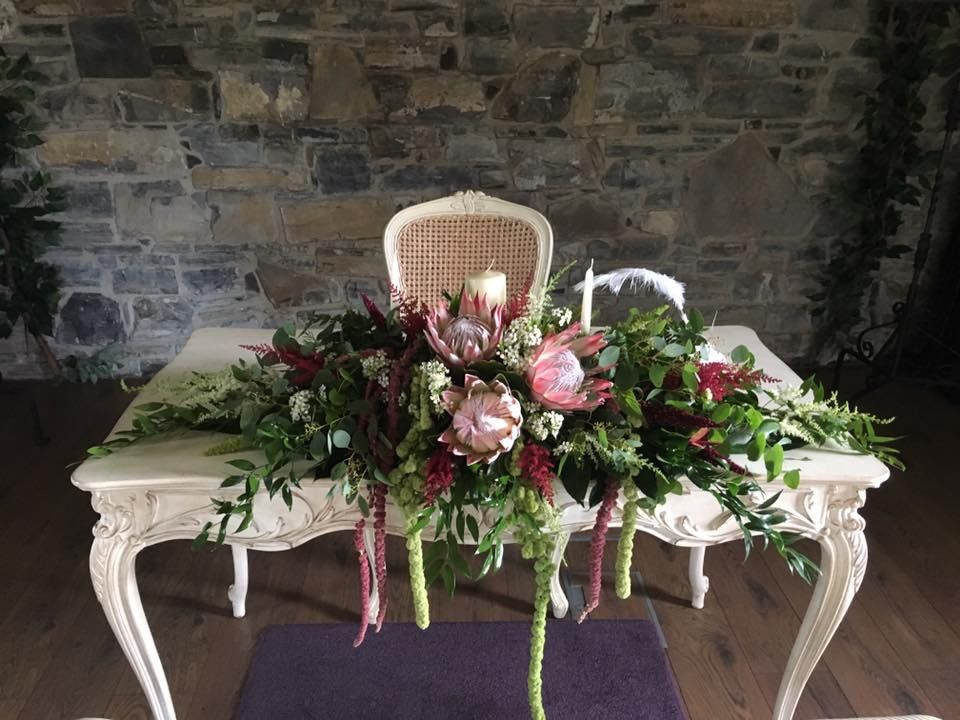 Ceremony Room Dressed Arbour Blooms (4)