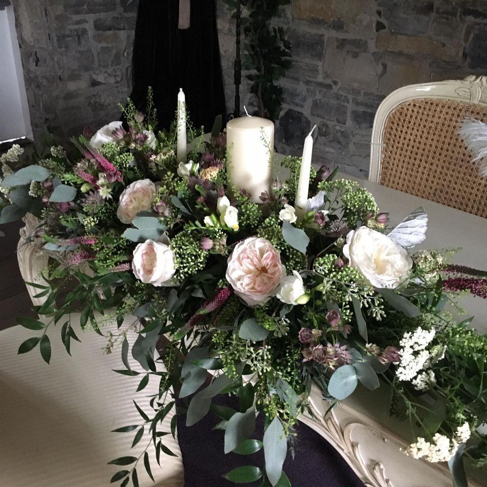 Ceremony Room Dressed Arbour Blooms (5)