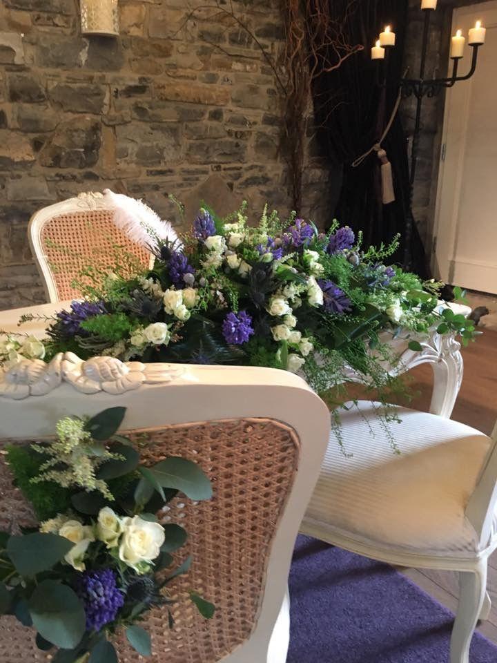 Ceremony Room Dressed Arbour Blooms (6)