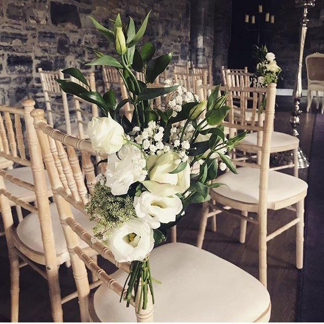 Ceremony Room Dressed Arbour Blooms (7)