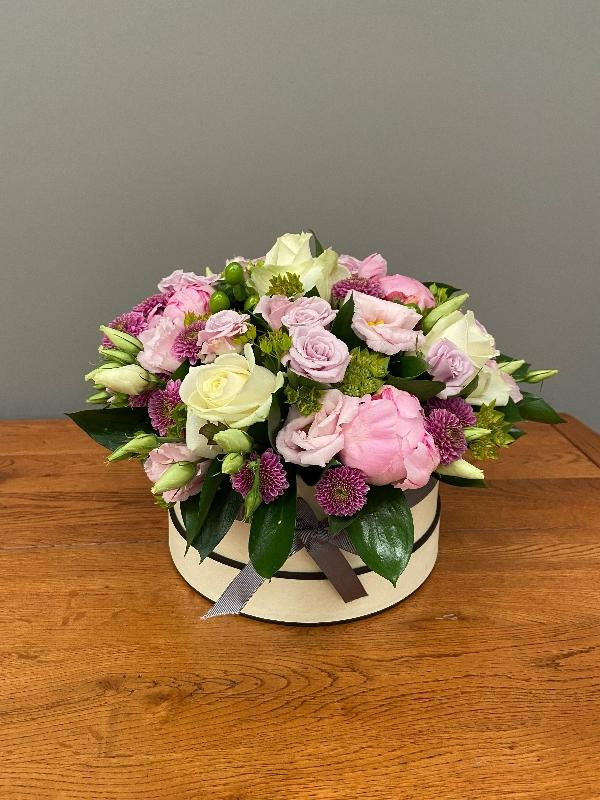 Luxury Hat Box 2 Arbour Blooms