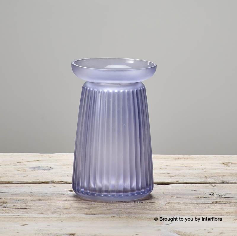 Lg Null Corrugated Lilac Vase.jpg