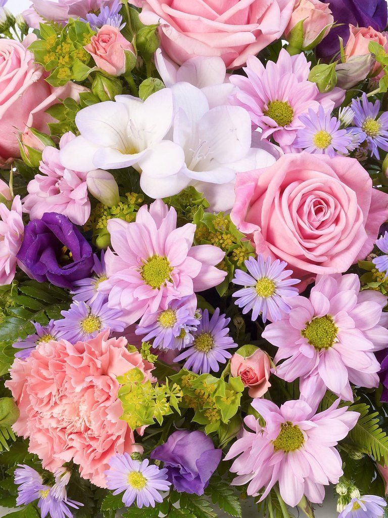 Classic Posy Lilac And Pink 1