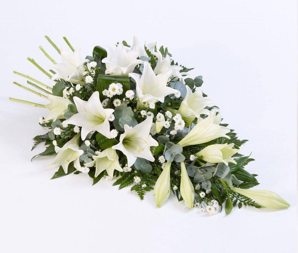 White Lily Spray